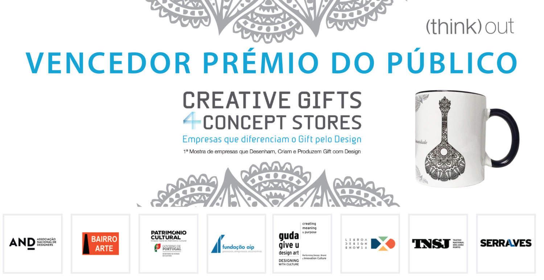 Prémio Creative Gifts 4 Concept Stores