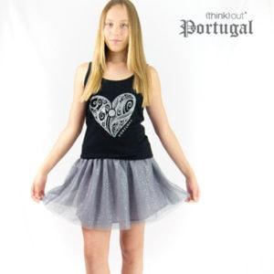 Top de Senhora Coração de Portugal